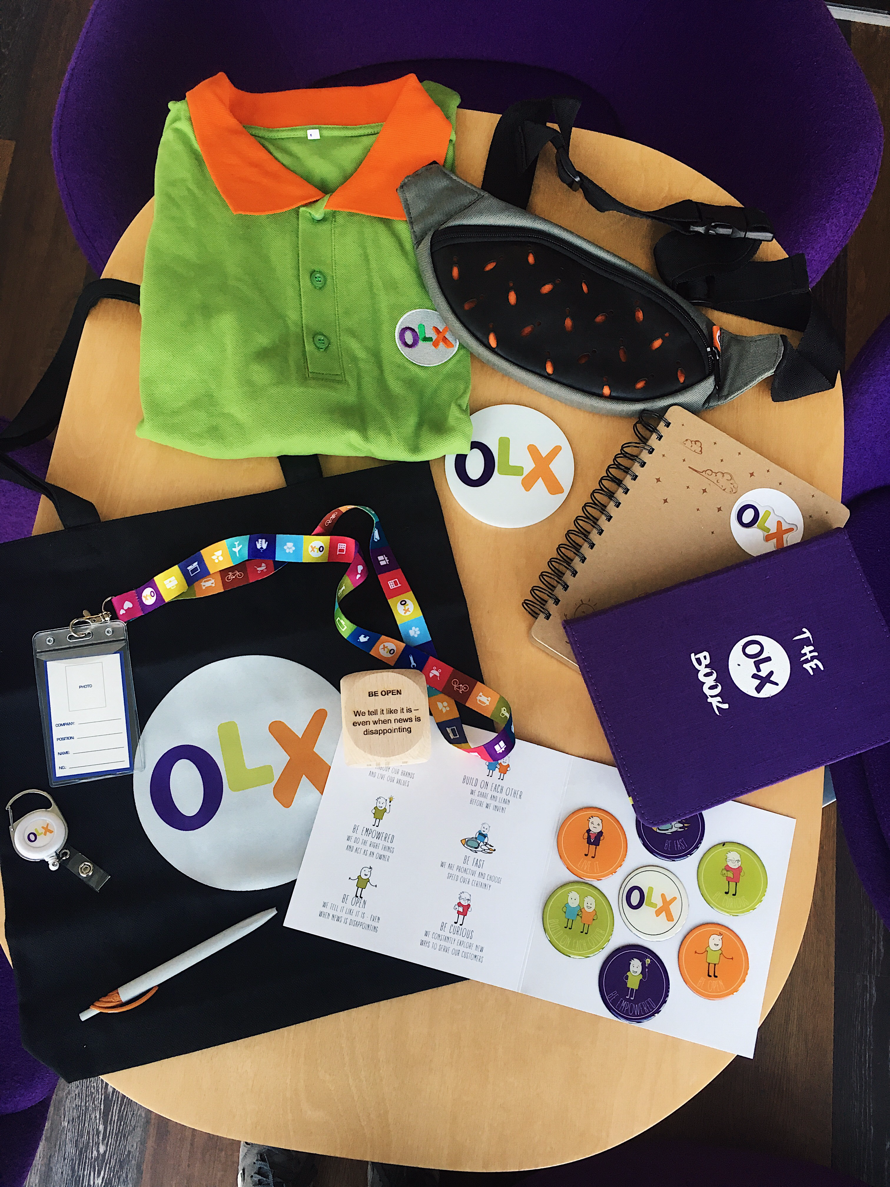 olx welcome box
